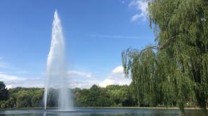 Park Piecewise, Halle